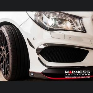 Mercedes-Benz CLA-Class W117 Front Bumper Splitter - Carbon Fiber