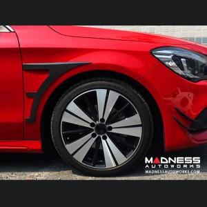 Mercedes-Benz CLA-Class Sport Front Canards - Carbon Fiber