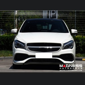 Mercedes-Benz CLA-Class Sport Front Lip Splitters - Carbon Fiber