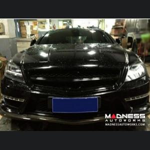 Mercedes-Benz CLS-Class W218 AMG Front Lip Spoiler - Carbon Fiber