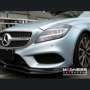 Mercedes-Benz CLS-Class W218 Front Valance Spoiler - Carbon Fiber