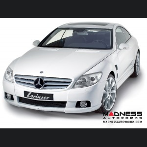Mercedes Benz CL-Class Coupe (C216) by Lorinser - Complete Aerodynamic Styling Kit