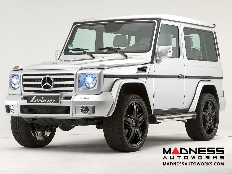Mercedes mercedes benz g class w463 by lorinser for Mercedes benz g class parts