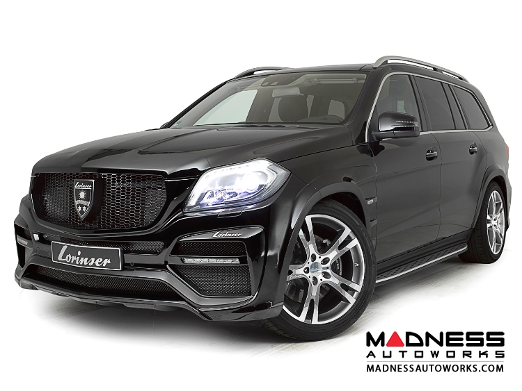 Mercedes - Mercedes Benz GL-Class (X166) by Lorinser - Complete ...