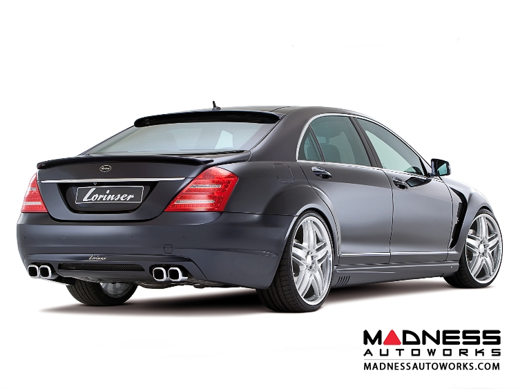 Mercedes mercedes benz s class w221 by lorinser for Mercedes benz s550 parts and accessories