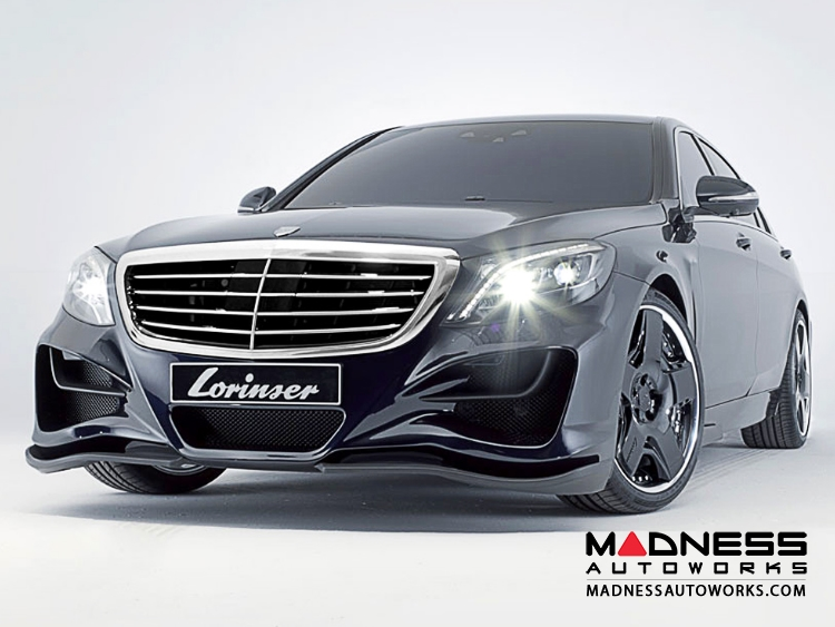 Mercedes mercedes benz s class w222 by lorinser for Mercedes benz s550 parts and accessories