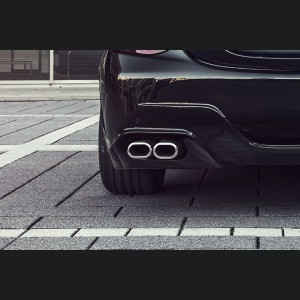 Mercedes-Benz C 400 AMG Sports Exhaust - Dual Tailpipe by Lorinser