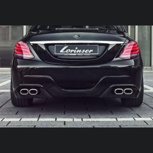 Mercedes-Benz C-Class Rear Bumper by Lorinser