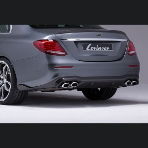 Mercedes-Benz E-Class AMG Rear Bumper by Lorinser
