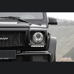 Mercedes-Benz G-Class Chrome Headlight Covers by Lorinser
