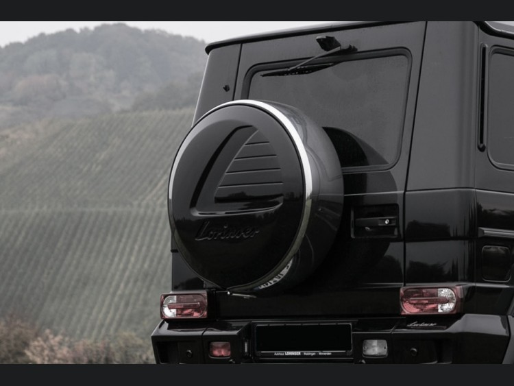 Mercedes-Benz G-Class Lorinser Spare Wheel Cover by Lorinser