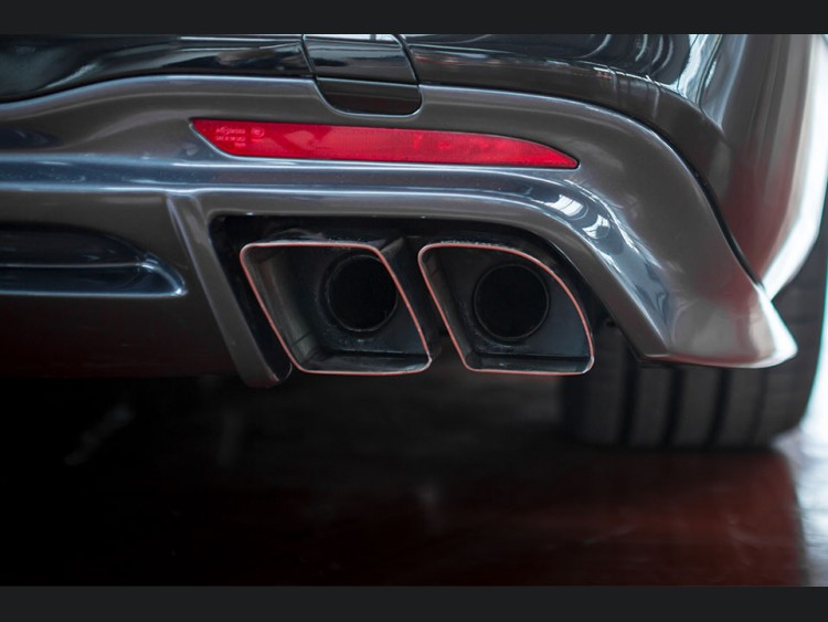 Mercedes-Benz S 560 Sport Exhaust System by Lorinser
