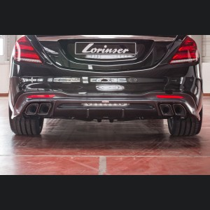 Mercedes-Benz S-Class AMG Rear Bumper by Lorinser
