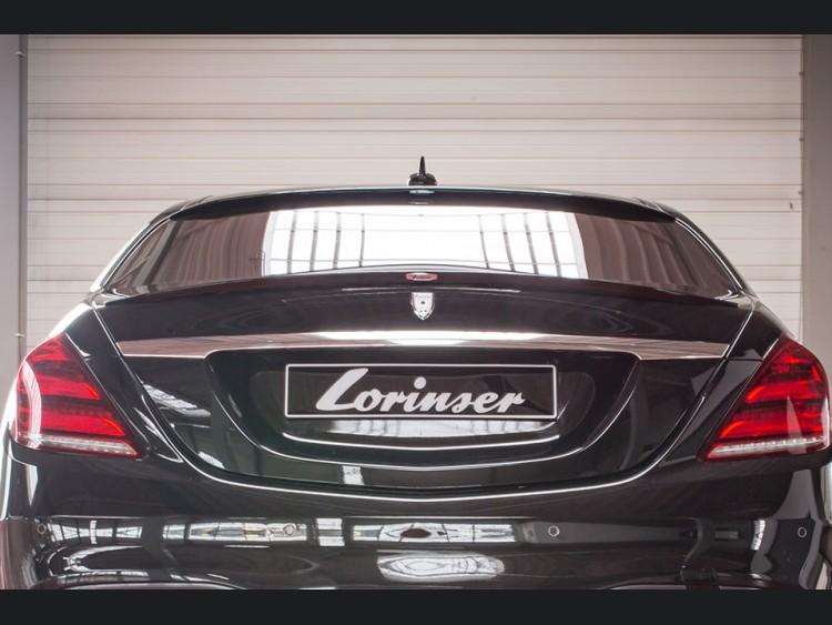 Mercedes-Benz S-Class AMG Rear Spoiler by Lorinser