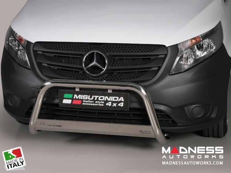 Mercedes Benz Metris Cargo Van Bumper Guard - Front - Medium Bumper Protector by Misutonida