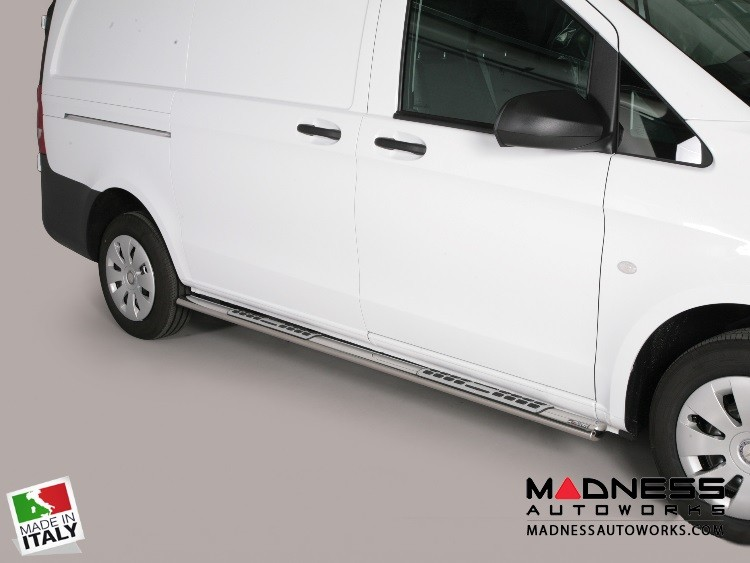 Mercedes Benz Metris Cargo Van Side Steps - V3 by Misutonida