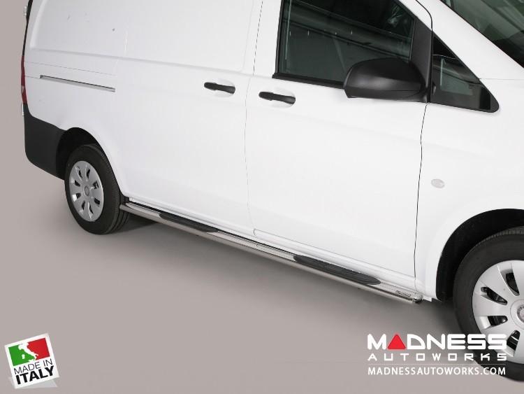 Mercedes Benz Metris Cargo Van Side Steps - V2 by Misutonida