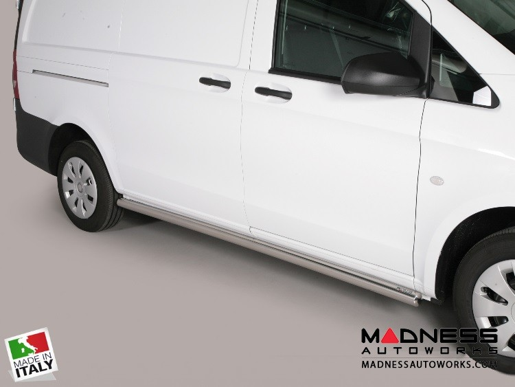 Mercedes Benz Metris Cargo Van Side Steps - V1 by Misutonida