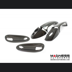 Mercedes Benz SLK External Door Handles - Carbon Fiber (2011 - on)