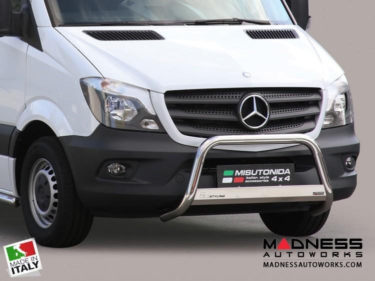 Mercedes Benz Sprinter Bumper Guard - Front - Medium Bumper Protector by Misutonida