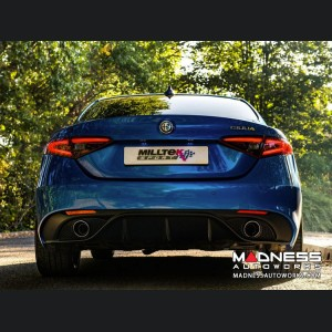 Alfa Romeo Giulia Performance Exhaust - 2.0L - Milltek - Cat Back w/ Active Valve Controller