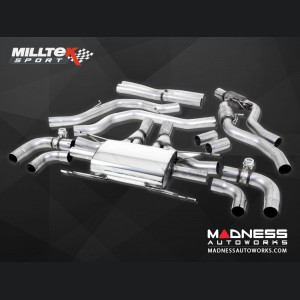 Alfa Romeo Giulia Performance Exhaust - 2.9L QV - Milltek - Cat Back Design