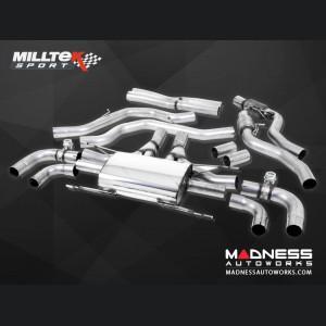 Alfa Romeo Giulia Performance Exhaust - 2.9L QV - Milltek - Cat Back Design
