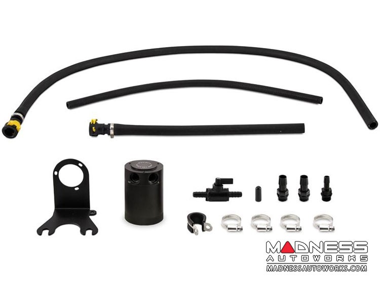 Jeep Wrangler JL 3.6L Oil Catch Can by Mishimoto - Baffled
