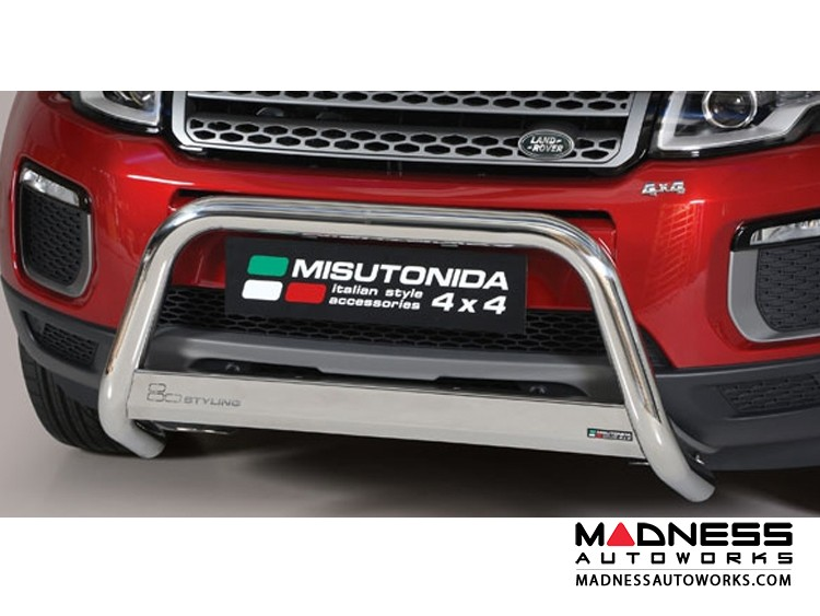 Range Rover Evoque Front Bumper Guard by Misutonida - EC Medium - High Polished Finish - 2016+