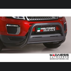 Range Rover Evoque Front Bumper Guard by Misutonida - EC Medium - Black Powder Coated Finish - 2016+