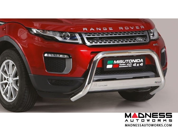 Range Rover Evoque Front Bumper Guard by Misutonida - Medium - High Polished Finish - 2016+