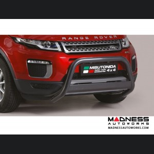 Range Rover Evoque Front Bumper Guard by Misutonida - Medium - Black Powder Coat Finish - 2016+