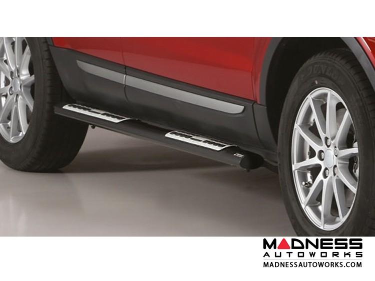Range Rover Evoque Side Steps by Misutonida Design Side Protection - Black Powder Coated Finish - 2016+