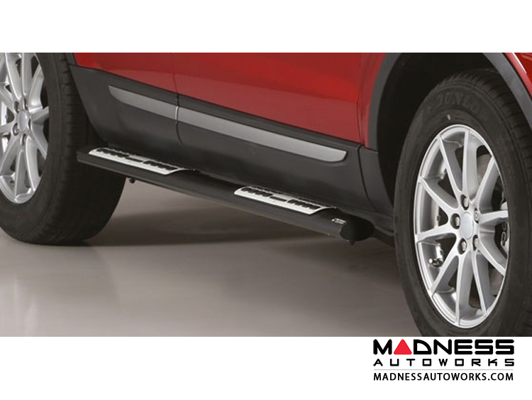 Deployed Side Steps For Range Rover Genuine Accessory: Range Rover Evoque Side Steps By Misutonida Design Side