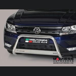 Volkswagen Tiguan Front Bumper Guard by Misutonida - Medium (2016+) EC Approved