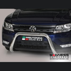 Volkswagen Tiguan Front  Bumper Guard by Misutonida - Super Bar (2016+)