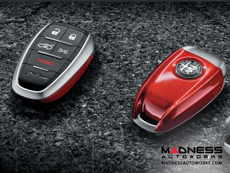 Alfa Romeo Stelvio Key FOB Cover - Red
