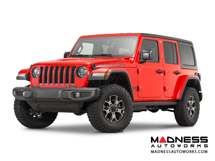 Jeep Wrangler JL Performance High Top Fender Flares Set - Paintable - 4 Door