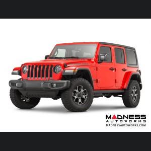 Jeep Wrangler JL Performance High Top Fender Flares Set - Paintable - 4 Door