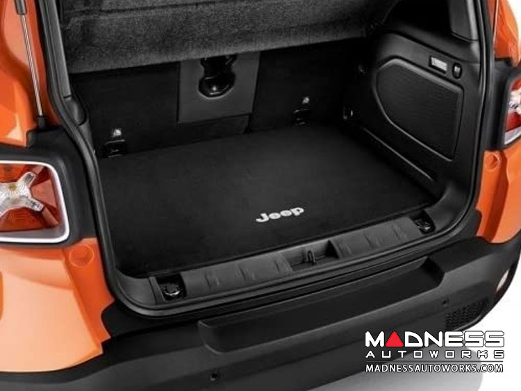 Jeep Renegade Carpeted Cargo Mat - Mopar - Black