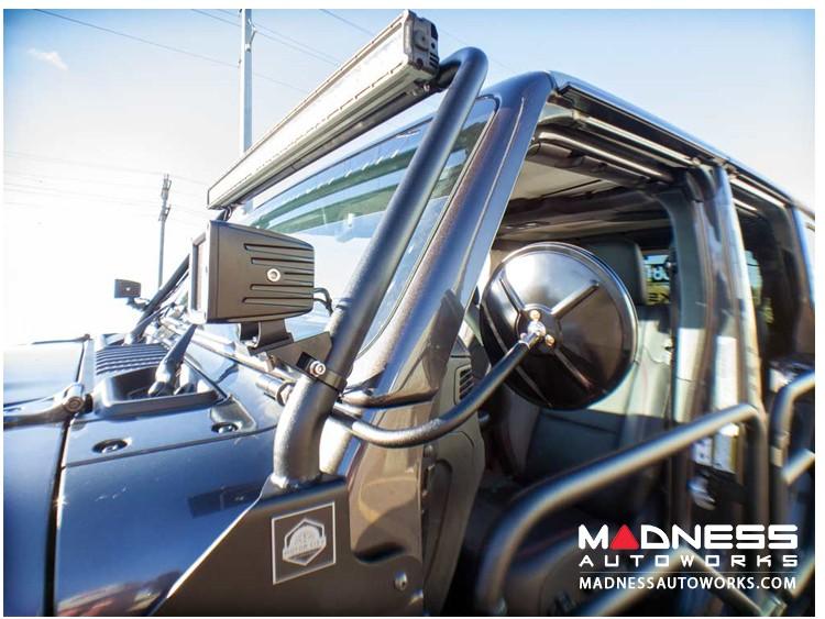 Jeep Wrangler JL Round Trail Mirror Kit - Pair