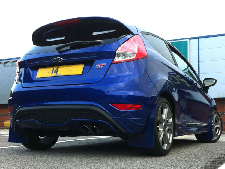 ford ford fiesta st mud flaps by rallyflapz 4 spirit. Black Bedroom Furniture Sets. Home Design Ideas