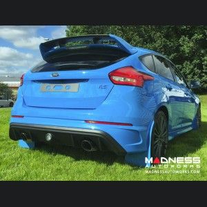 Ford Focus RS Mud Flaps by RallyFlapZ (4) - Nitrous Blue (2011 - 2017)