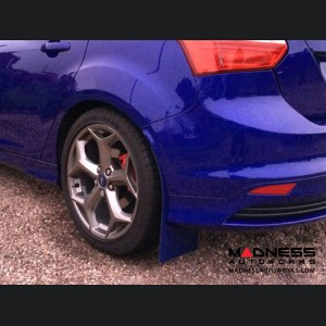 Ford Focus ST Mud Flaps by RallyFlapZ (4) - Spirit Blue (2011 - 2017)