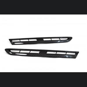 Nissan GT-R Front Fender Duct Set - Carbon Fiber