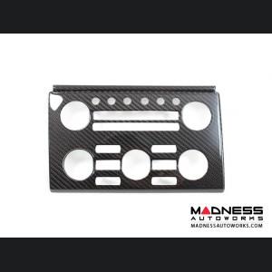 Nissan GT-R A/V Control Unit Cover in Carbon Fiber