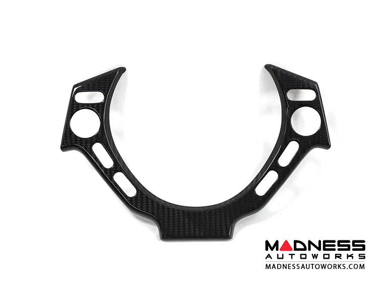 Nissan GT-R Steering Wheel Trim Cover in Carbon Fiber