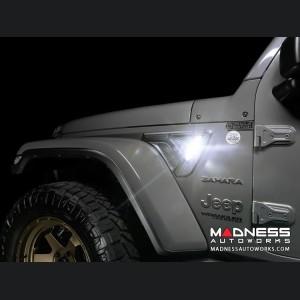 Jeep Wrangler JL LED Sidetrack Lighting Kit - Oracle