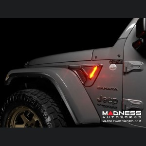 Jeep Wrangler JL LED Sidetrack Lighting Kit - Oracle