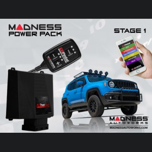 Jeep Renegade MADNESS Power Pack - Stage 1 - 1.3L Multi Air Engine